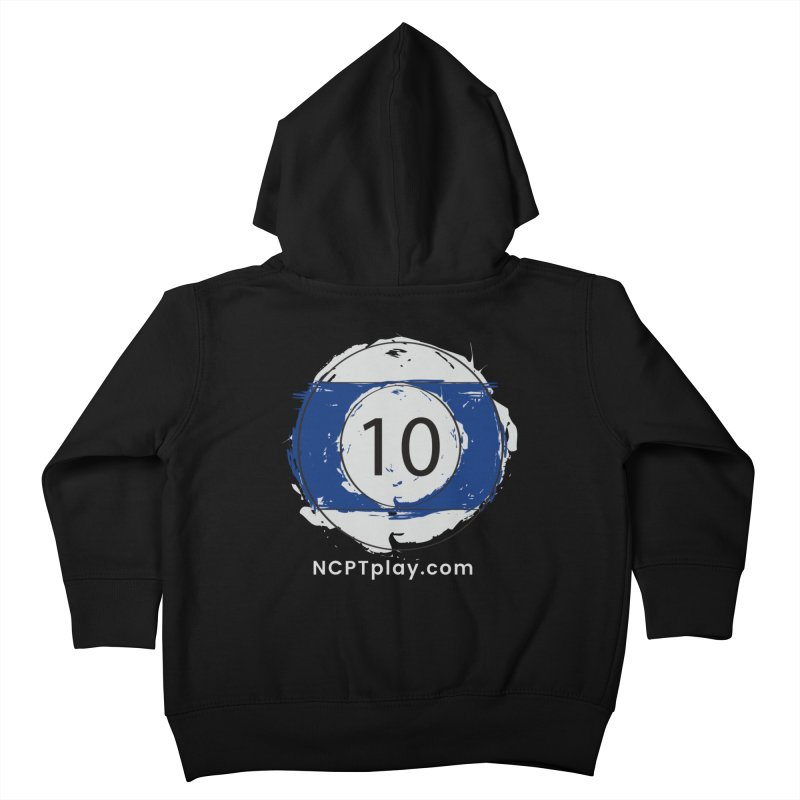 10 Ball Art Kids Toddler Zip-Up Hoody by Shop NCPTplay