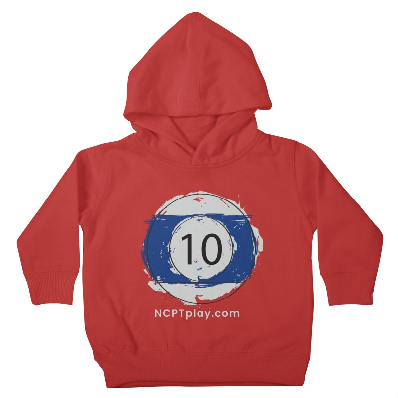 10 Ball Art Kids Toddler Pullover Hoody by Shop NCPTplay
