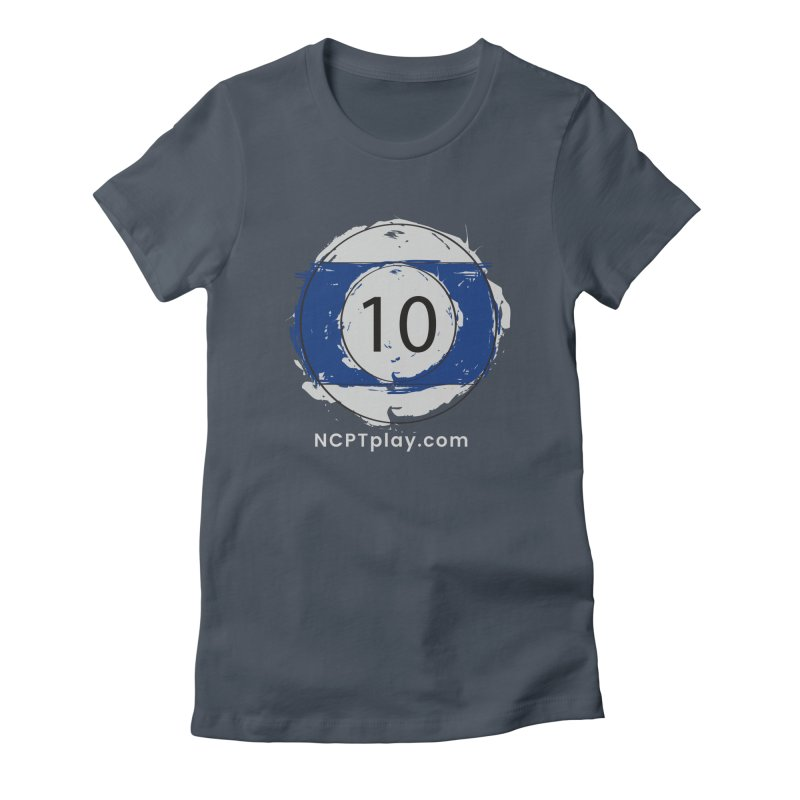 10 Ball Art Women's T-Shirt by Shop NCPTplay
