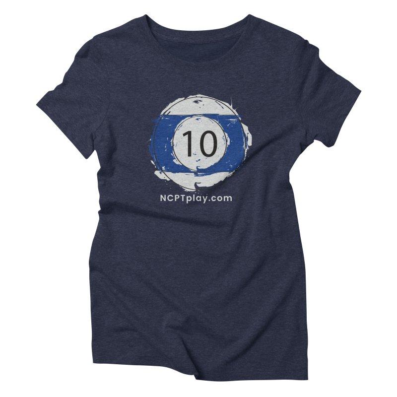 10 Ball Art Women's T-Shirt by Shop NCPTplay
