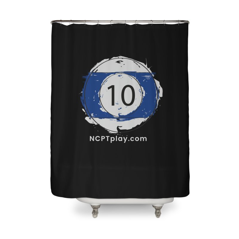 10 Ball Art Home Shower Curtain by Shop NCPTplay