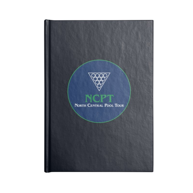 Main Logo Accessories Lined Journal Notebook by Shop NCPTplay