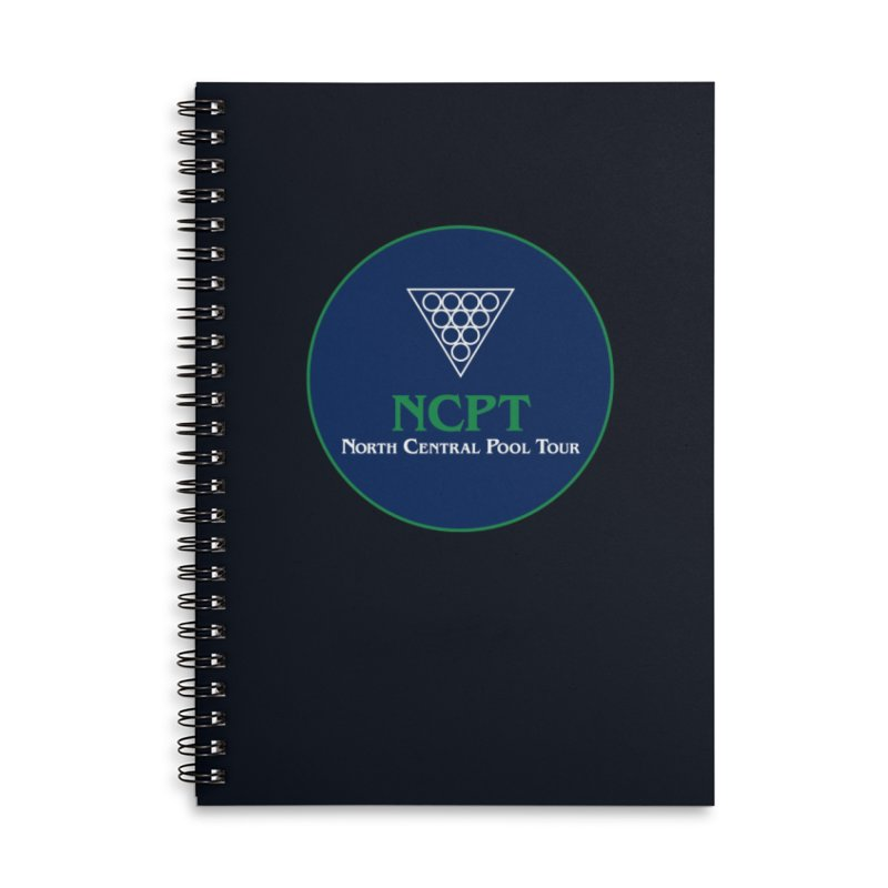 Main Logo Accessories Lined Spiral Notebook by Shop NCPTplay