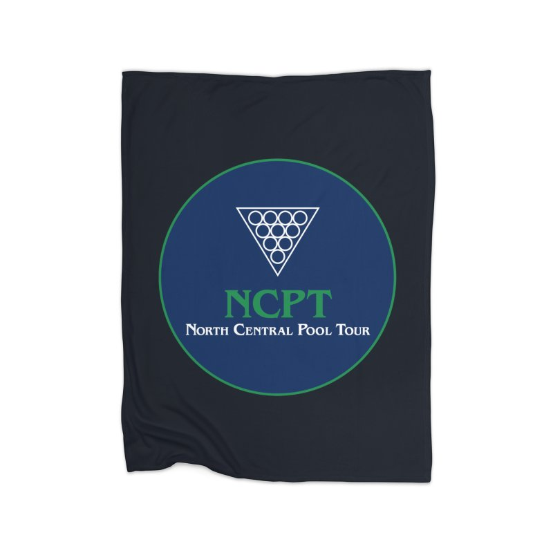 Main Logo Home Fleece Blanket Blanket by Shop NCPTplay