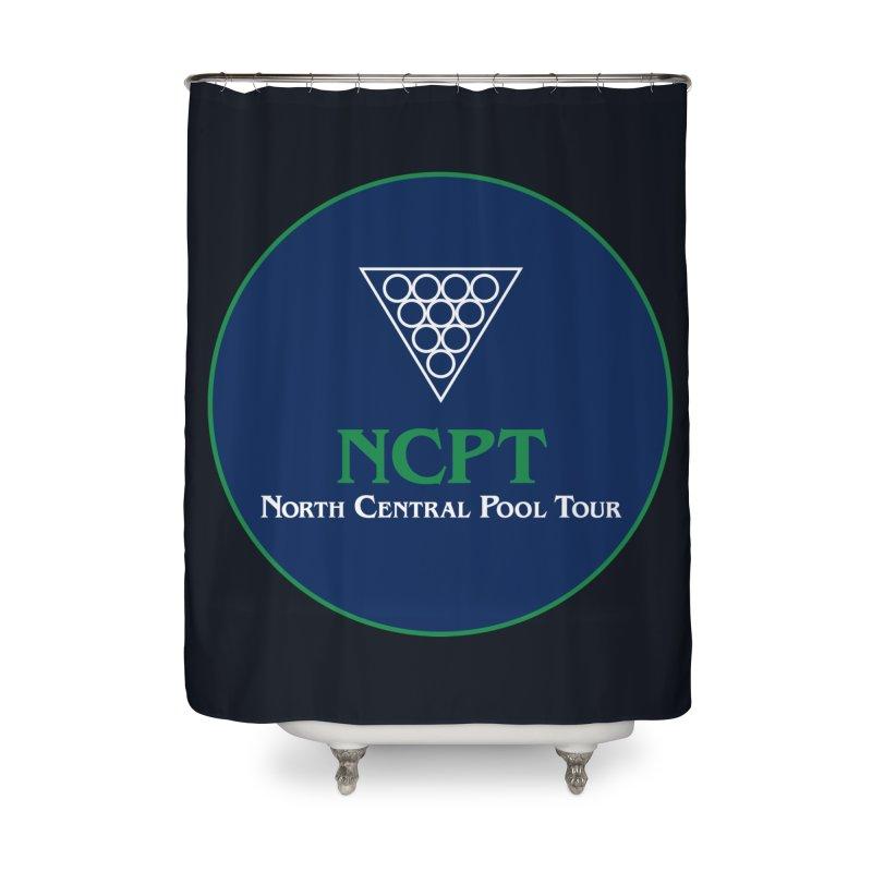 Main Logo Home Shower Curtain by Shop NCPTplay