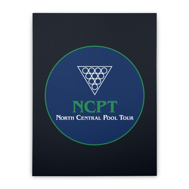 Main Logo Home Stretched Canvas by Shop NCPTplay