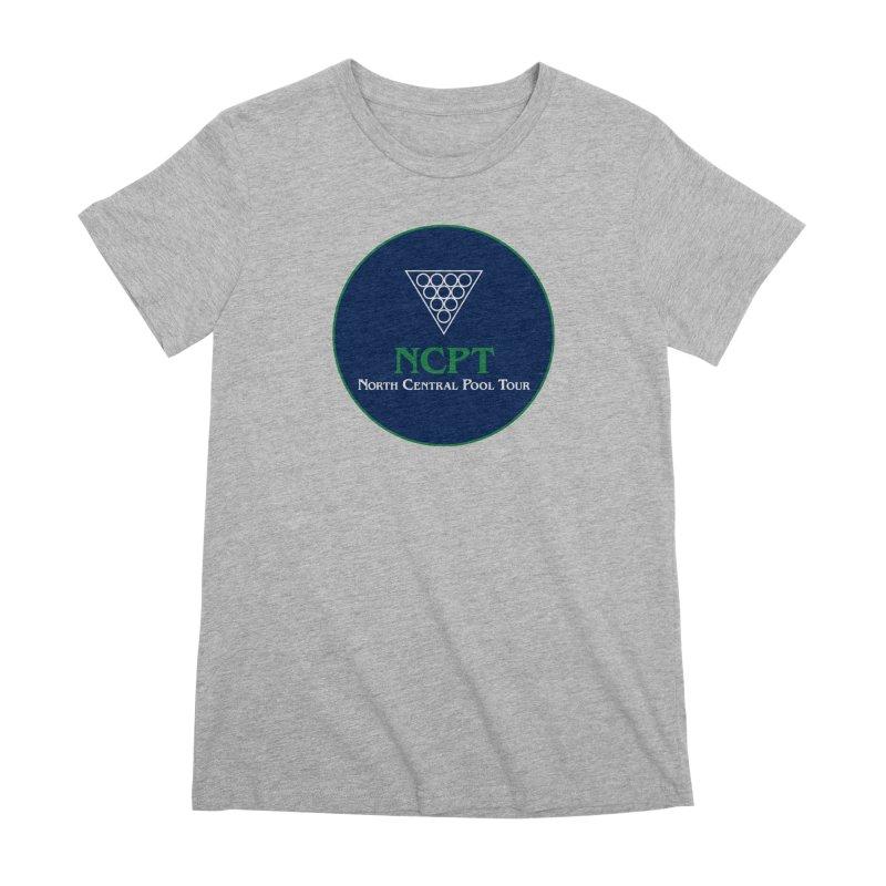 Main Logo Women's Premium T-Shirt by Shop NCPTplay