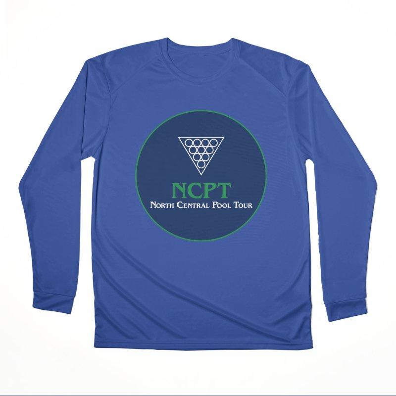 Main Logo Men's Performance Longsleeve T-Shirt by Shop NCPTplay