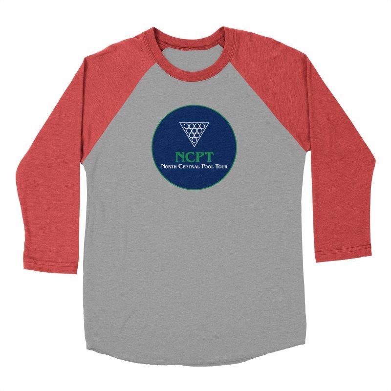 Main Logo Men's Baseball Triblend Longsleeve T-Shirt by Shop NCPTplay