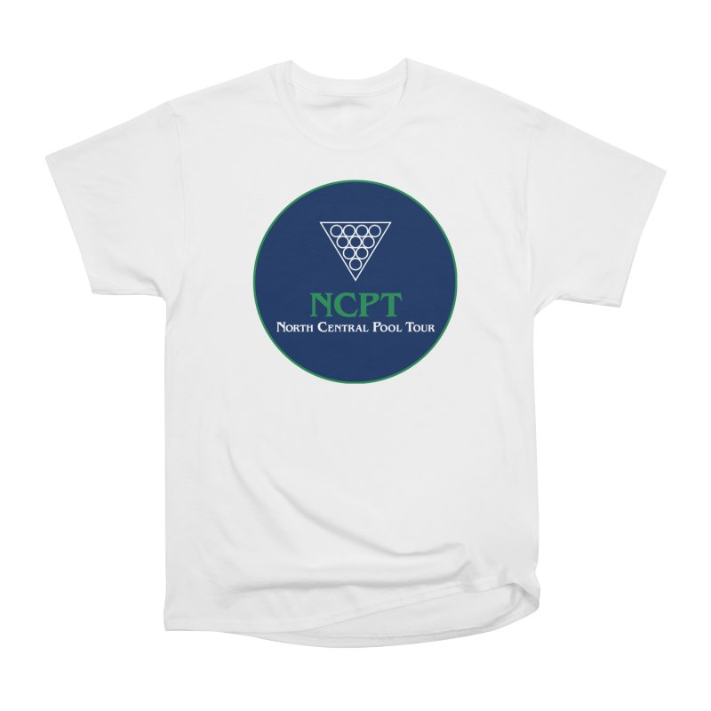 Main Logo Men's Heavyweight T-Shirt by Shop NCPTplay