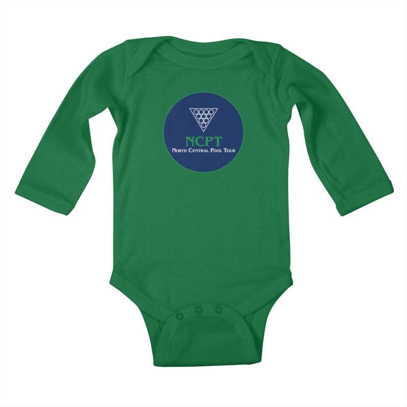 Main Logo Kids Baby Longsleeve Bodysuit by Shop NCPTplay