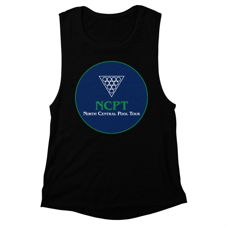 Main Logo Women's Muscle Tank by Shop NCPTplay