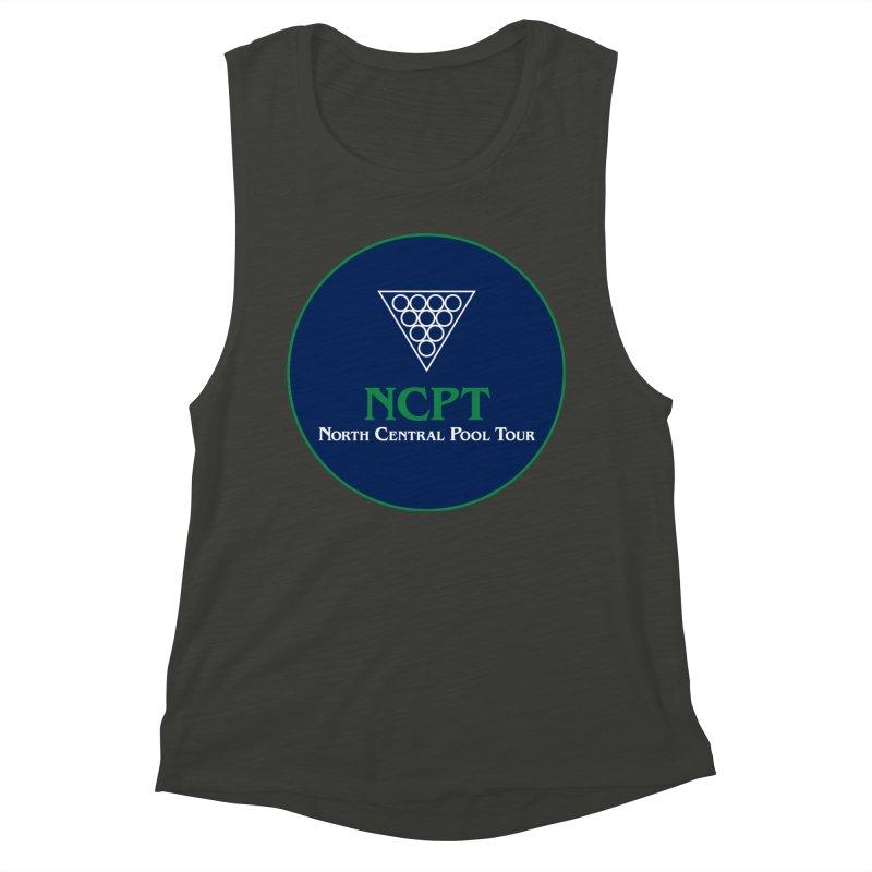 Main Logo Women's Muscle Tank by Shop NCPTplay