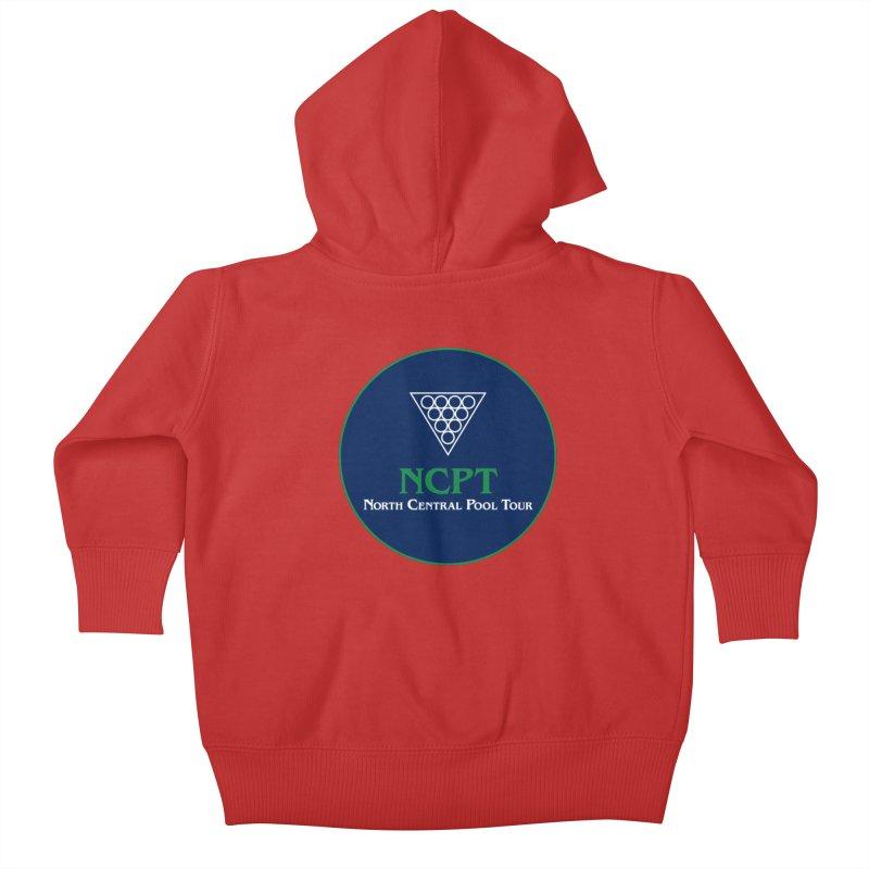 Main Logo Kids Baby Zip-Up Hoody by Shop NCPTplay