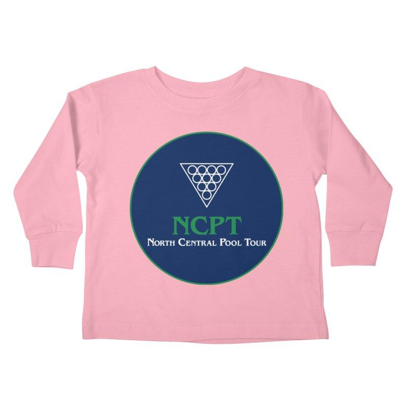 Main Logo Kids Toddler Longsleeve T-Shirt by Shop NCPTplay