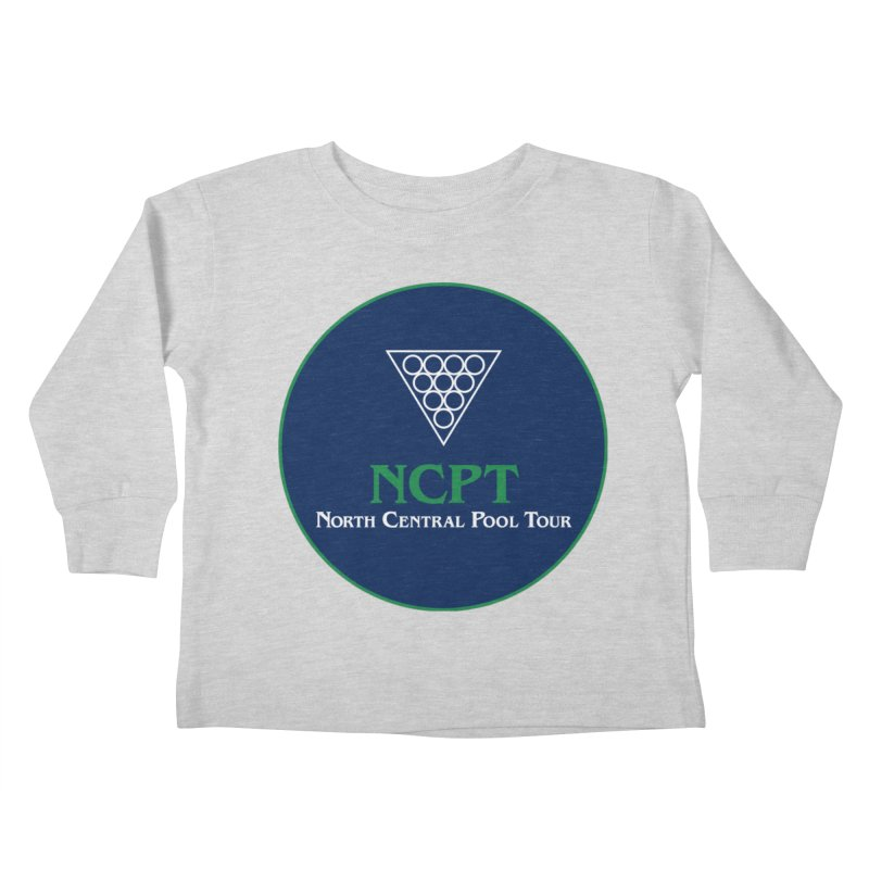 Main Logo Kids Toddler Longsleeve T-Shirt by Shop NCPTplay