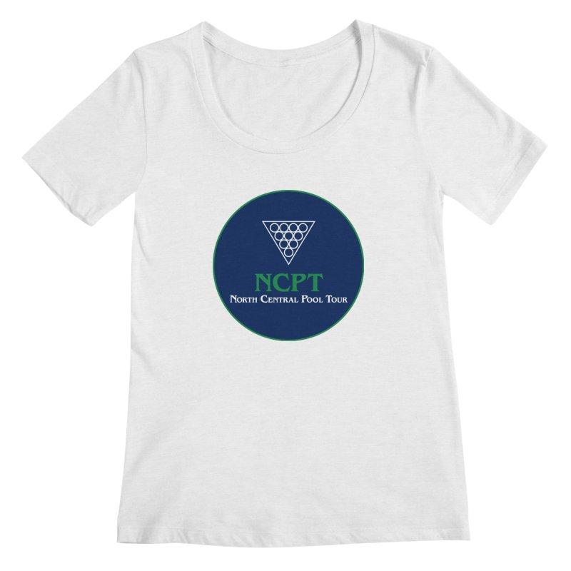 Main Logo Women's Regular Scoop Neck by Shop NCPTplay