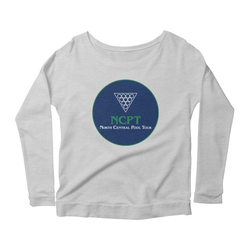 Main Logo Women's Scoop Neck Longsleeve T-Shirt by Shop NCPTplay
