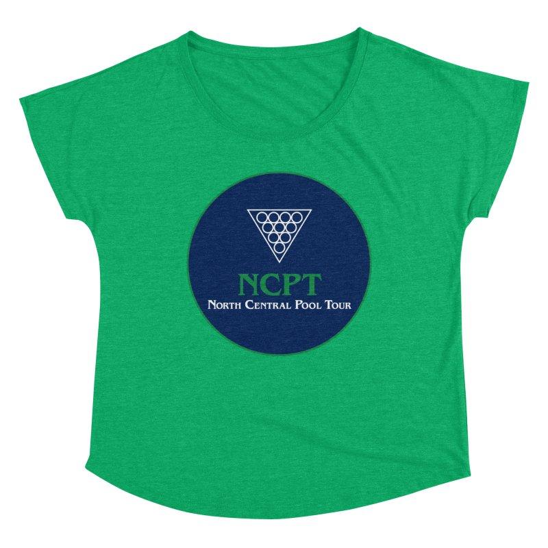 Main Logo Women's Dolman Scoop Neck by Shop NCPTplay