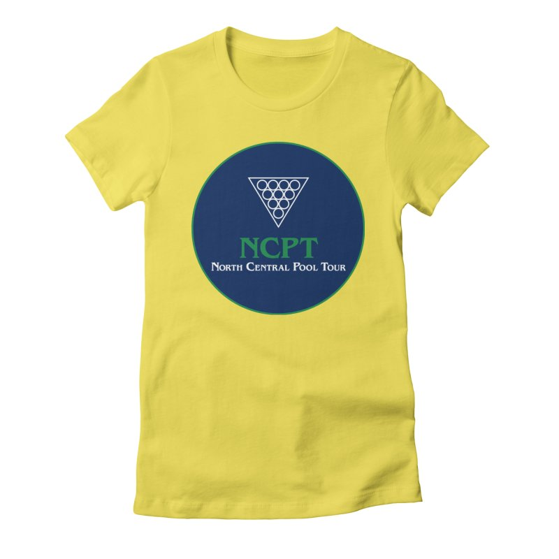 Main Logo Women's Fitted T-Shirt by Shop NCPTplay