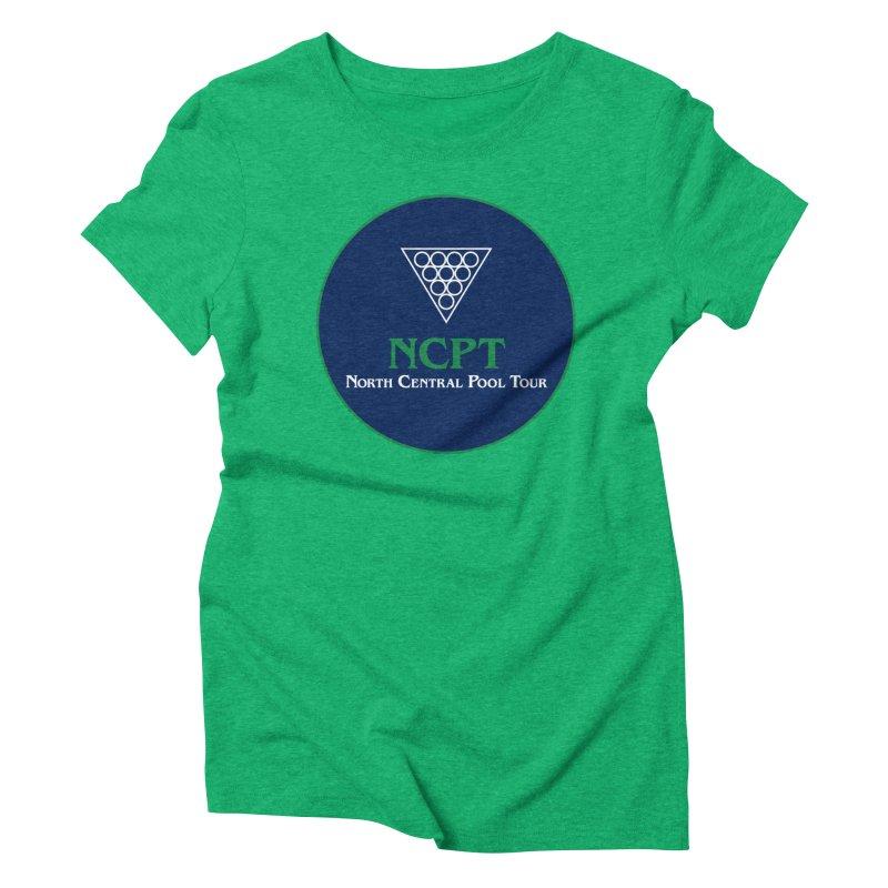 Main Logo Women's Triblend T-Shirt by Shop NCPTplay