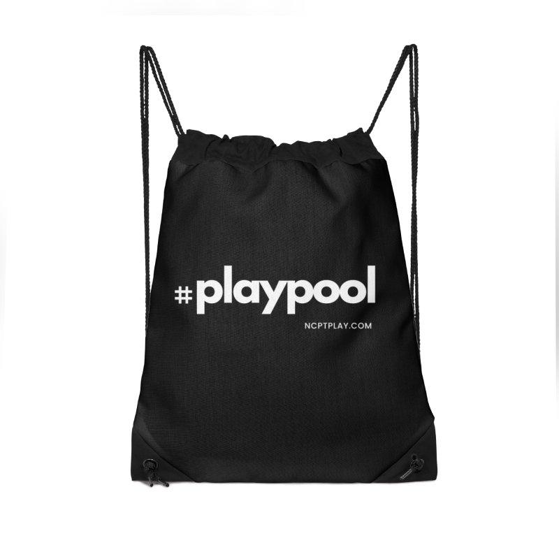 #playpool Accessories Drawstring Bag Bag by Shop NCPTplay