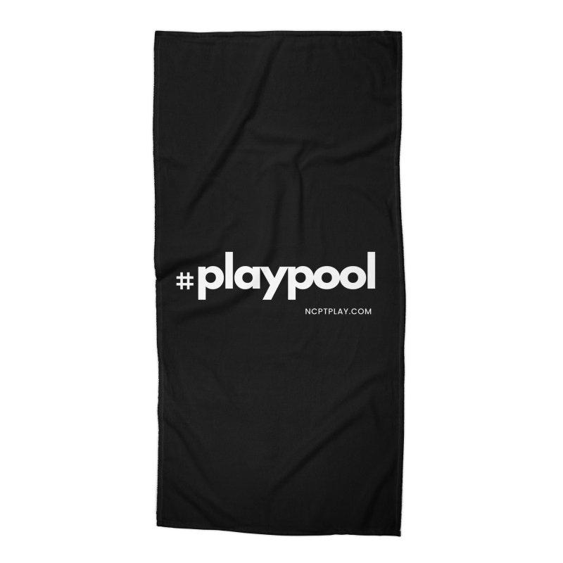#playpool Accessories Beach Towel by Shop NCPTplay