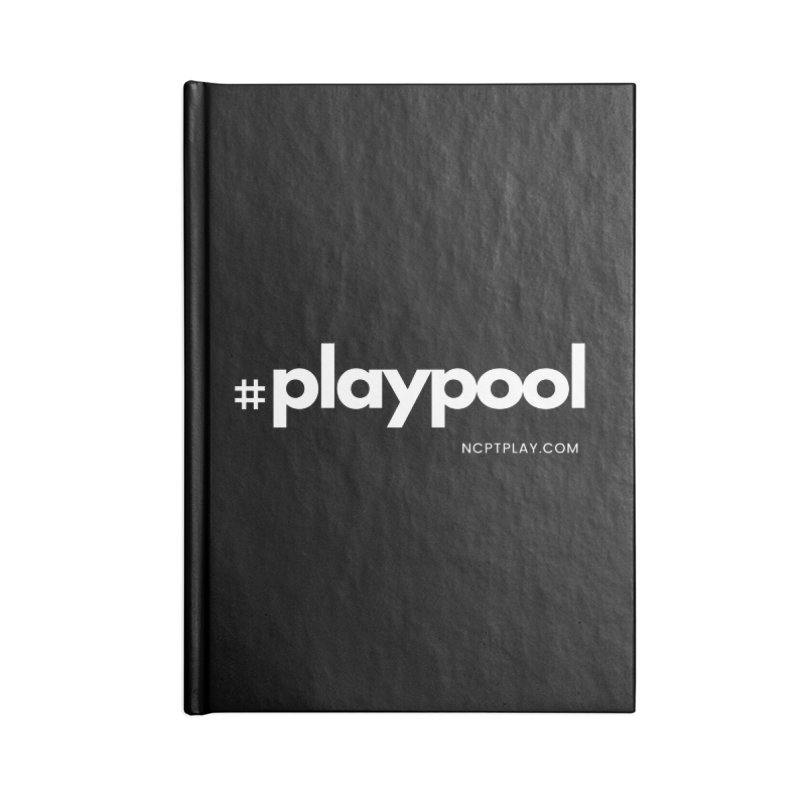 #playpool Accessories Lined Journal Notebook by Shop NCPTplay