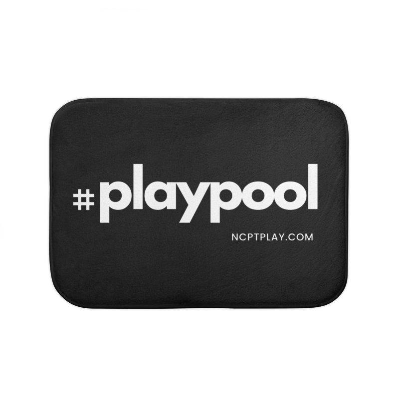 #playpool Home Bath Mat by Shop NCPTplay