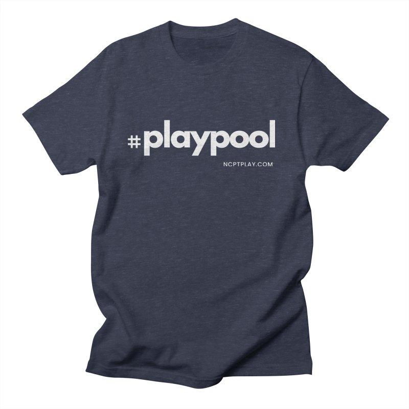 #playpool Men's Regular T-Shirt by Shop NCPTplay
