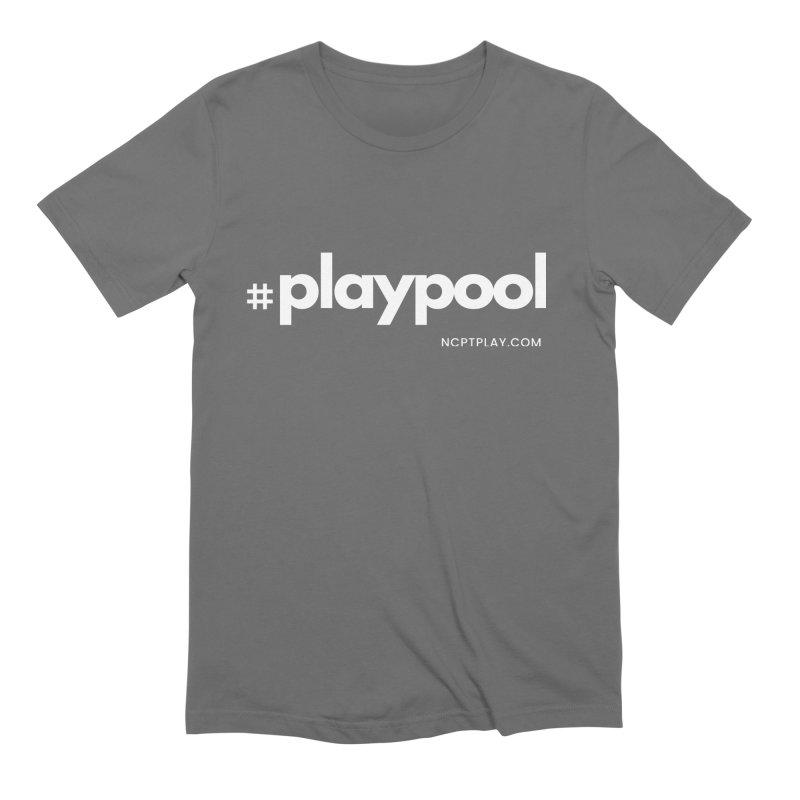 #playpool Men's T-Shirt by Shop NCPTplay