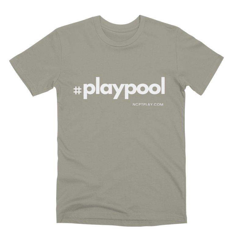 #playpool Men's Premium T-Shirt by Shop NCPTplay
