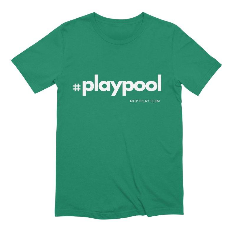 #playpool Men's Extra Soft T-Shirt by Shop NCPTplay