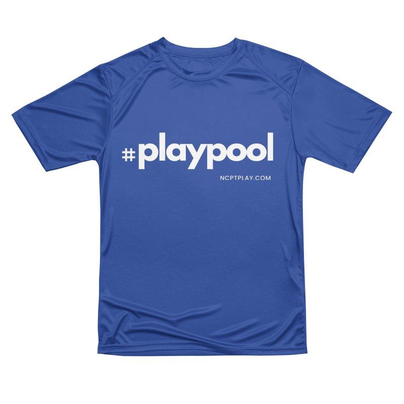 #playpool Men's Performance T-Shirt by Shop NCPTplay