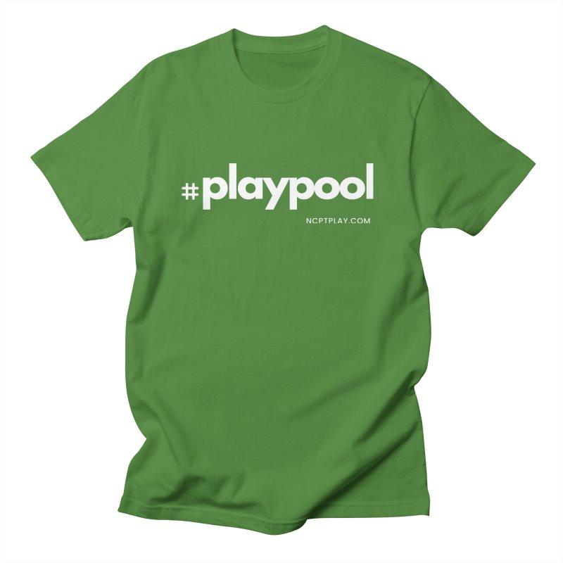 #playpool Women's Regular Unisex T-Shirt by Shop NCPTplay