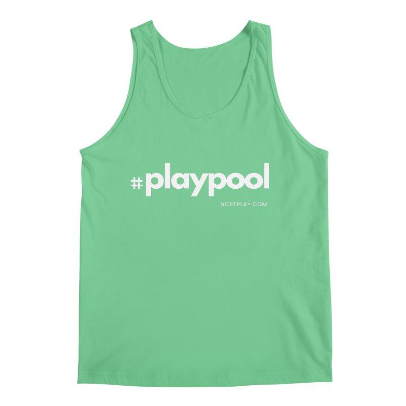 #playpool Men's Regular Tank by Shop NCPTplay