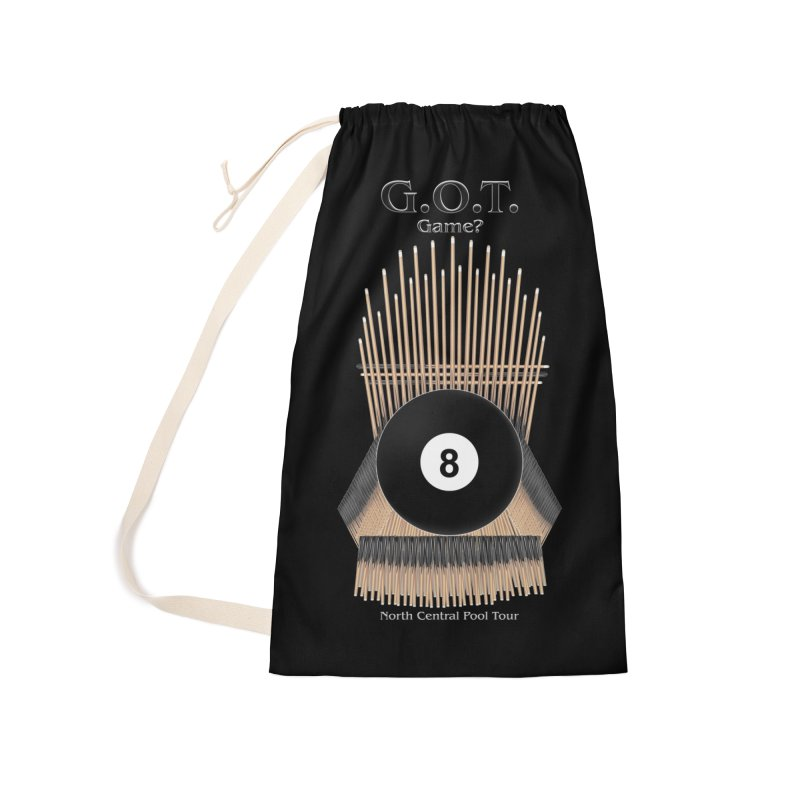 G.O.T. Game? Accessories Laundry Bag Bag by Shop NCPTplay