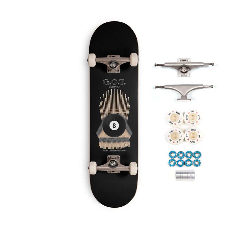 G.O.T. Game? Accessories Complete - Premium Skateboard by Shop NCPTplay