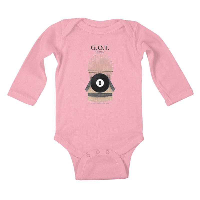 G.O.T. Game? Kids Baby Longsleeve Bodysuit by Shop NCPTplay