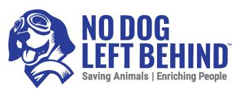 No Dog and Cat Left Behind Shop Logo