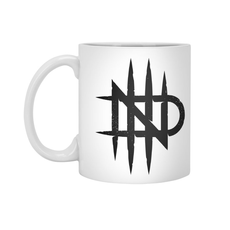 NDTH Monogram Accessories Standard Mug by NDTH's Artist Shop