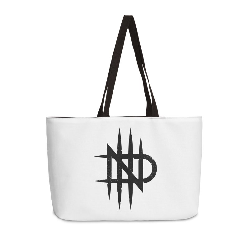 NDTH Monogram Accessories Weekender Bag Bag by NDTH's Artist Shop