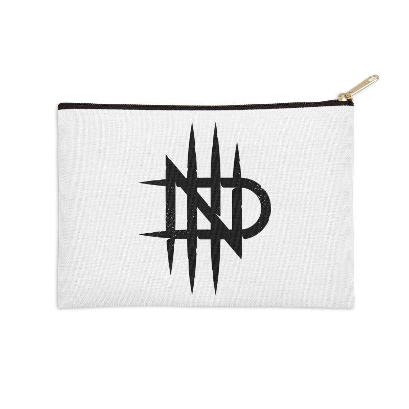NDTH Monogram Accessories Zip Pouch by NDTH's Artist Shop