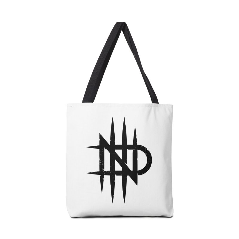 NDTH Monogram Accessories Tote Bag Bag by NDTH's Artist Shop