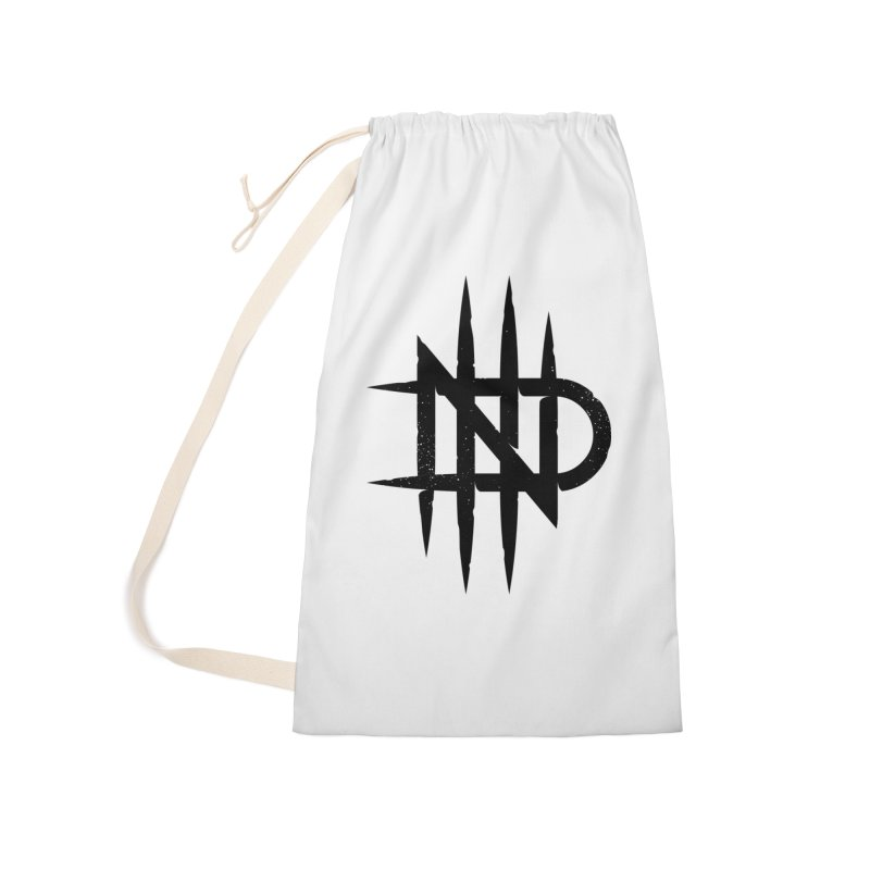 NDTH Monogram Accessories Laundry Bag Bag by NDTH's Artist Shop