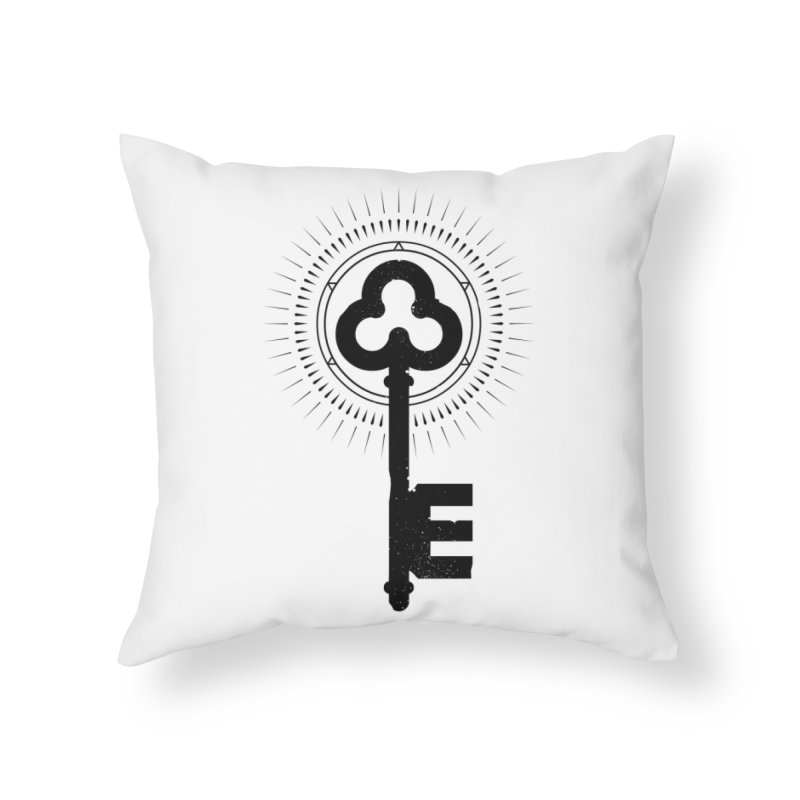 NDTH Key Home Throw Pillow by NDTH's Artist Shop