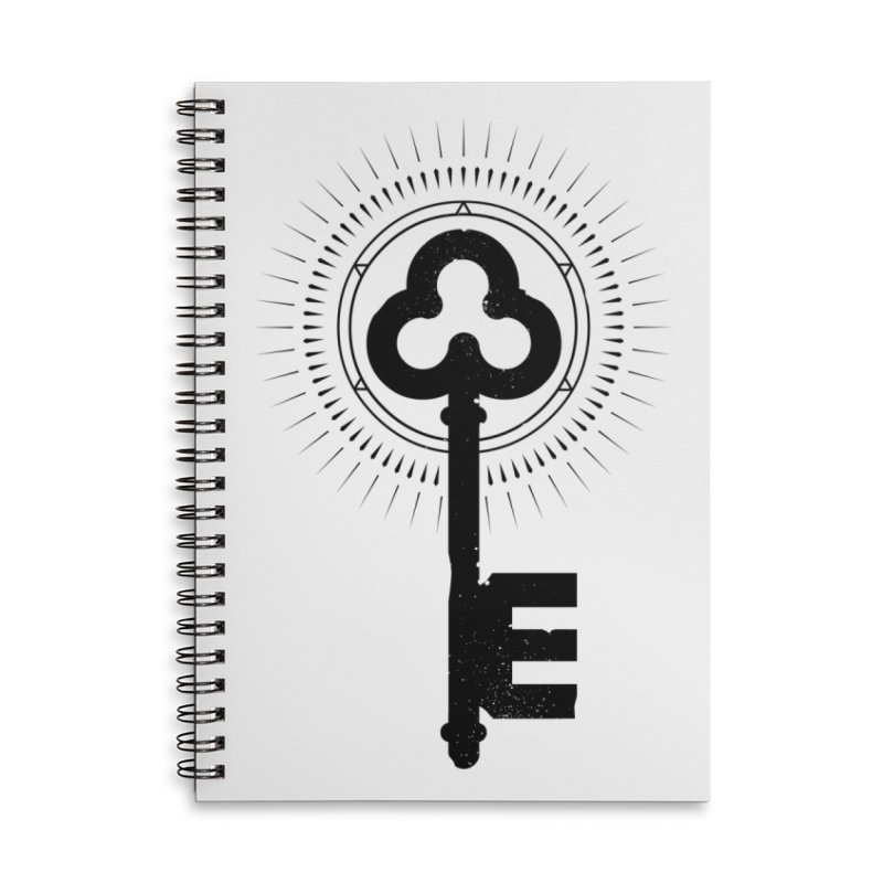 NDTH Key Accessories Lined Spiral Notebook by NDTH's Artist Shop