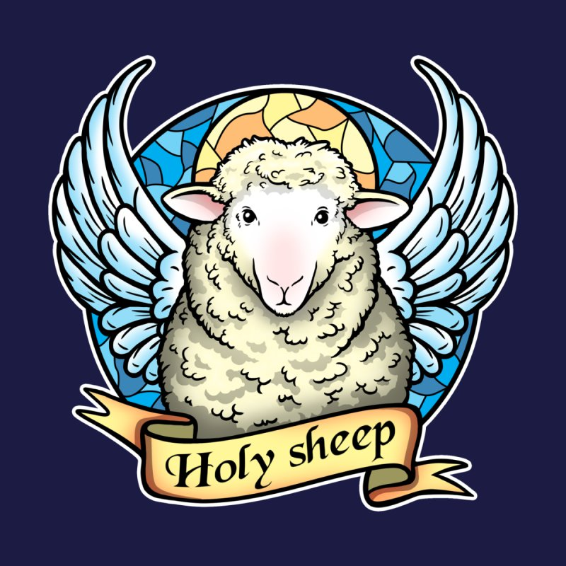 Holy sheep by NemiMakeit's Artist Shop