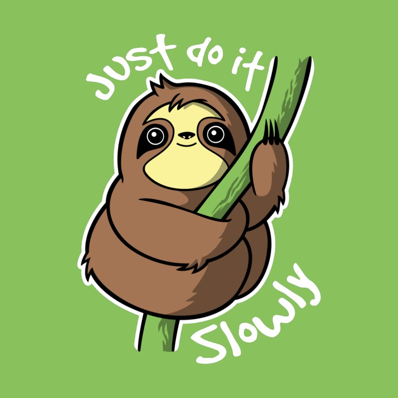 Slow sloth by NemiMakeit's Artist Shop