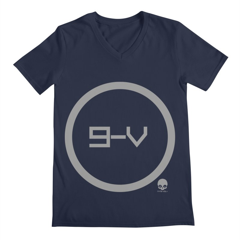 9-V: ASH Men's V-Neck by NIN3VOLT